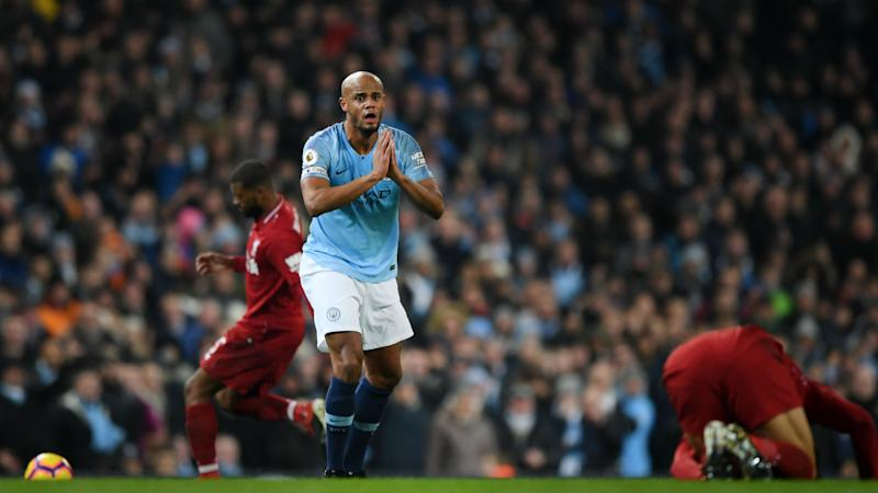 Klopp baffled Kompany escaped red for Salah lunge