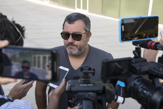 Mino Raiola is the man behind Matthijs de Ligt's move to Juventus, and he is not alone in his influence. (Getty)