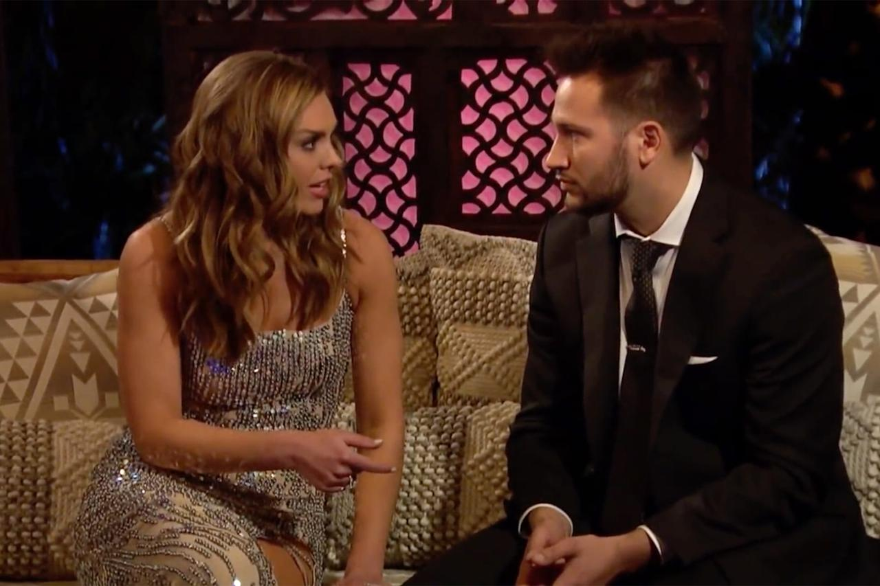 "Hannah's first taste of drama came from the very first episode of the season. Her pal, Demi Burnett (who appeared with Hannah on Colton's season of <em>The Bachelor</em>), told her that one of the contests, Scott, had a girlfriend right before entering the mansion. Hannah immediately pulled Scott aside and <a href=""https://www.youtube.com/watch?v=Iypx53WUvWA"">gave him a piece of her mind</a>. ""I know you were nervous coming in today,"" she said before going in for the kill: ""It might be because you have a girlfriend!"" Hannah Beast jumped out and told Scott to GTFO."