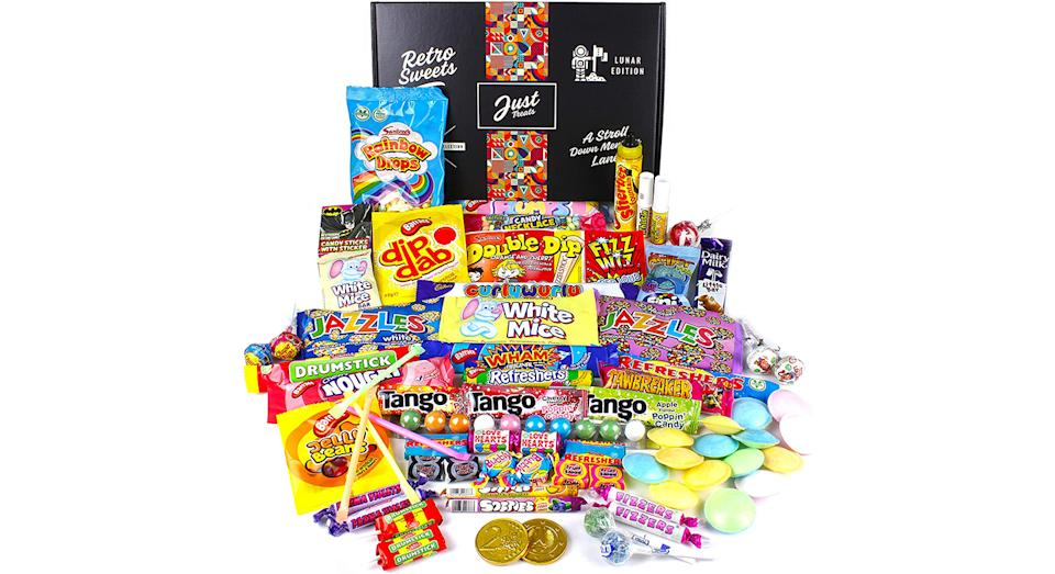 Just Treats Lunar Treasure Gift: Jam Packed with the Best Ever Retro Sweets