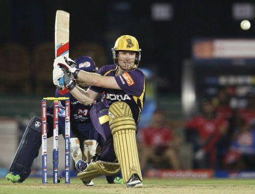 Eoin Morgan brings a lot of stability and experience to KKR's middle order.