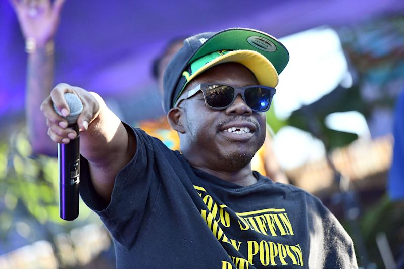 LOS ANGELES, CA - AUGUST 05: Rapper Bushwick Bill of The Geto Boys performs onstage during Beach Goth Festival at Los Angeles State Historic Park on August 5, 2018 in Los Angeles, California. (Photo by Scott Dudelson/Getty Images)