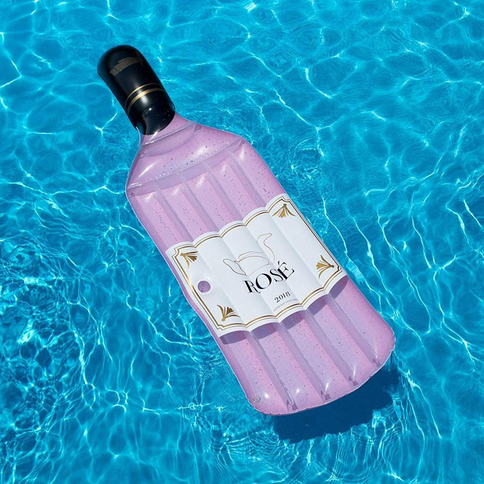 <p>If you live by Rosé all day, you need this <span>Rosé Wine Bottle Float</span> ($30). It was made for pool photo shoots.</p>