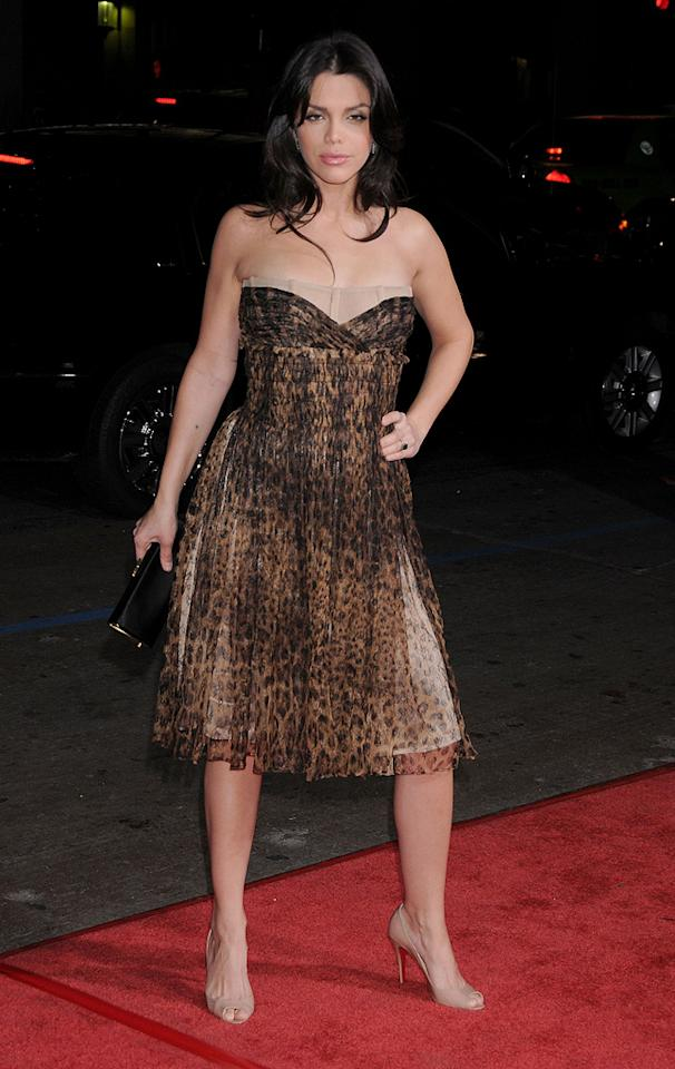 """<a href=""""http://movies.yahoo.com/movie/contributor/1808464344"""">Vanessa Ferlito</a> at the Los Angeles premiere of <a href=""""http://movies.yahoo.com/movie/1809991685/info"""">Nothing Like the Holidays</a> - 12/03/2008"""