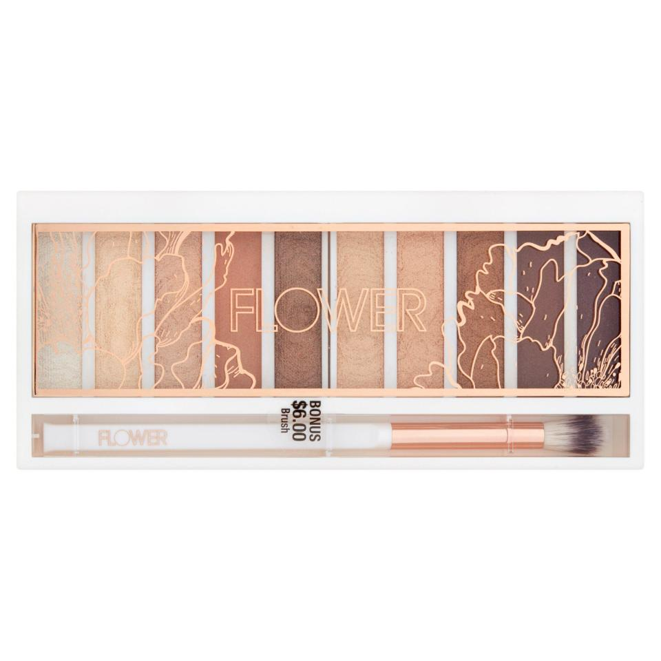 "<h3>Flower Shimmer & Shade Eyeshadow Palette</h3><p>A neutral eyeshadow palette will never go out of style, and <a href=""https://www.walmart.com/search?query=flower%20beauty&cat_id=1085666"" rel=""nofollow noopener"" target=""_blank"" data-ylk=""slk:Flower Beauty's"" class=""link rapid-noclick-resp"">Flower Beauty's</a> version is one of the best Walmart finds, bar none. The powders are pigmented, silky, and last just as long as the pricey stuff.</p><br><br><strong>Flower Beauty</strong> Flower Shimmer & Shade Eyeshadow Palette, $14.98, available at <a href=""https://www.walmart.com/ip/Flower-Shimmer-Shade-Eyeshadow-Palette-ES3-Golden-Natural/189389539"" rel=""nofollow noopener"" target=""_blank"" data-ylk=""slk:Walmart"" class=""link rapid-noclick-resp"">Walmart</a>"