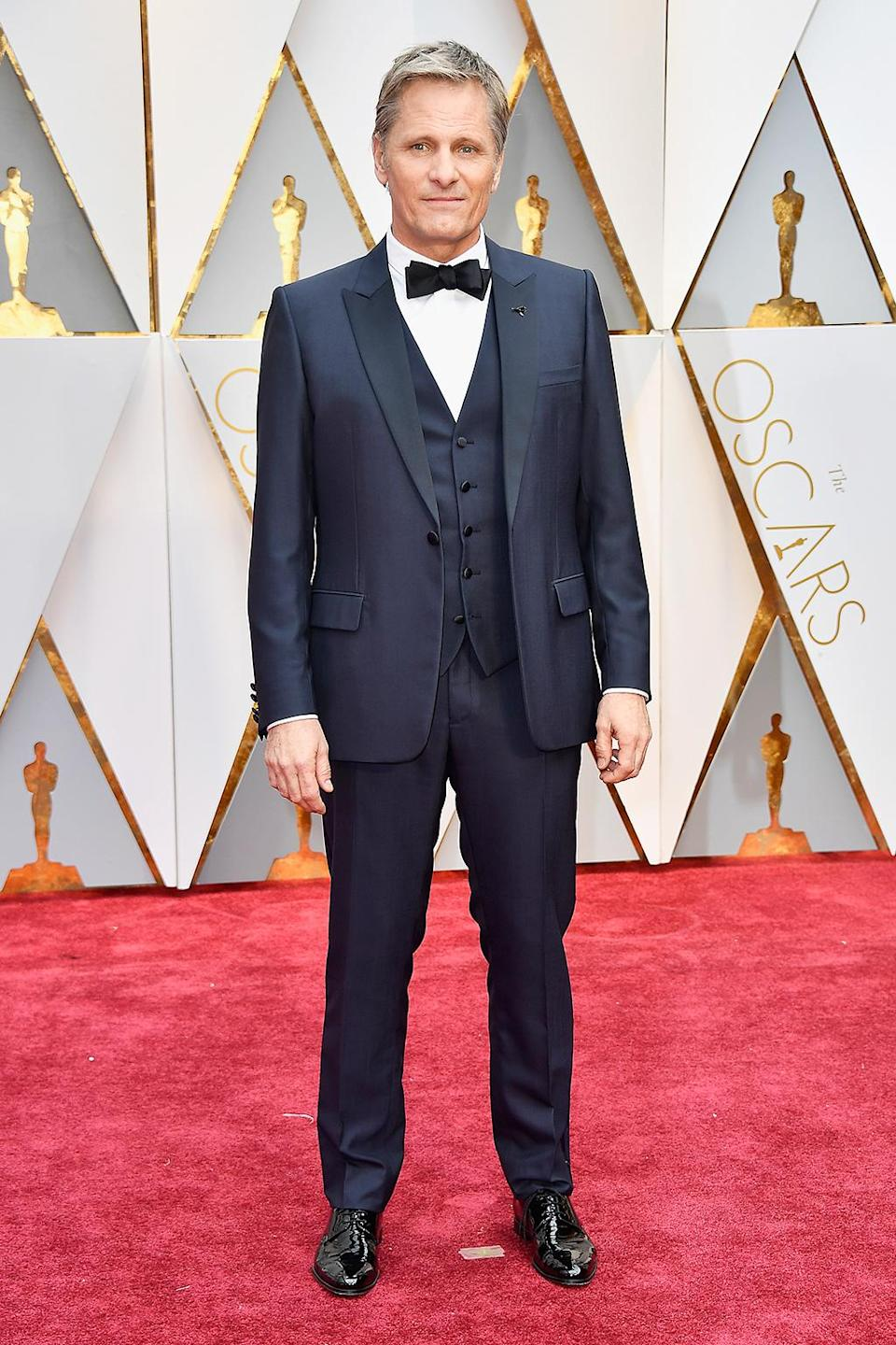 <p>Actor Viggo Mortensen attends the 89th Annual Academy Awards at Hollywood & Highland Center on February 26, 2017 in Hollywood, California. (Photo by Frazer Harrison/Getty Images) </p>