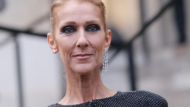 Celine Dion Looks Like a Tiffany Blue Big Bird in This Outfit, and I'm Legitimately Screaming