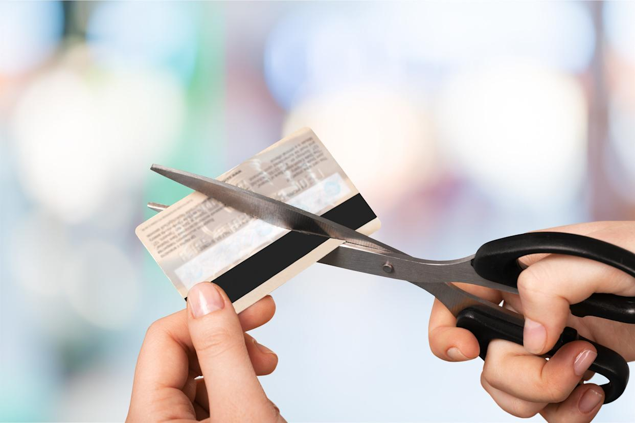 Closing a credit card won't erase its history for seven to 10 years. (Photo: artisteer / Getty Images)