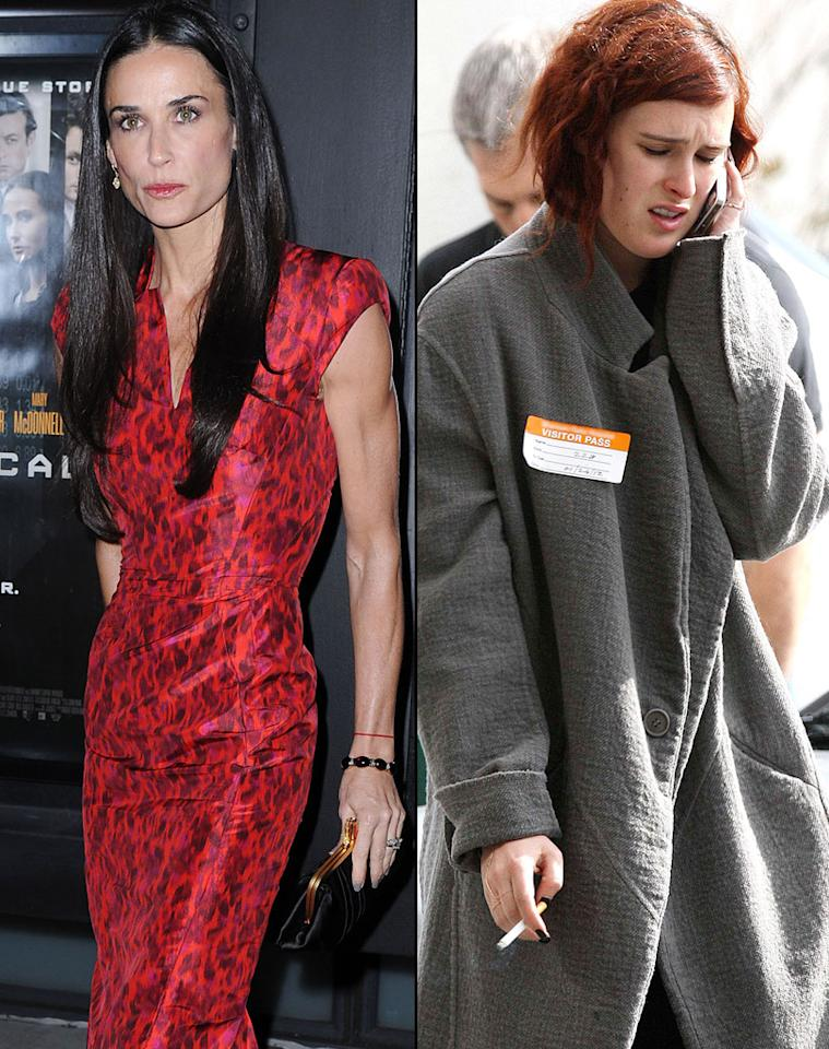 Demi Moore, Rumer Willis