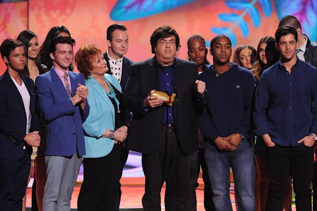 Dan Schneider at the 27th Annual Kids' Choice Awards. (Photo: Getty Images)