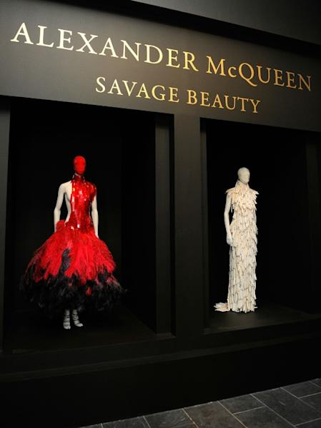 "McQueen's work was the subject of a blockbuster exhibit at the Metropolitan Museum of Art in New York in 2011 -- ""Alexander McQueen: Savage Beauty"""
