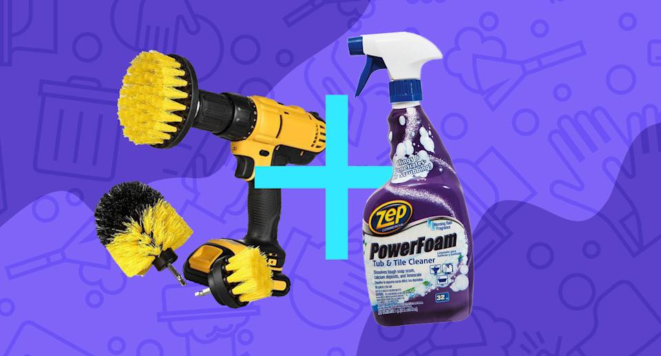 It's the Astaire and Rogers of bathroom cleaning combos. (Photo: Walmart)