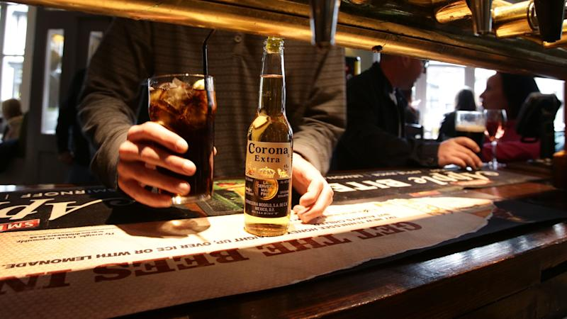 Corona maker AB InBev warns of profits fall after £132m coronavirus hit