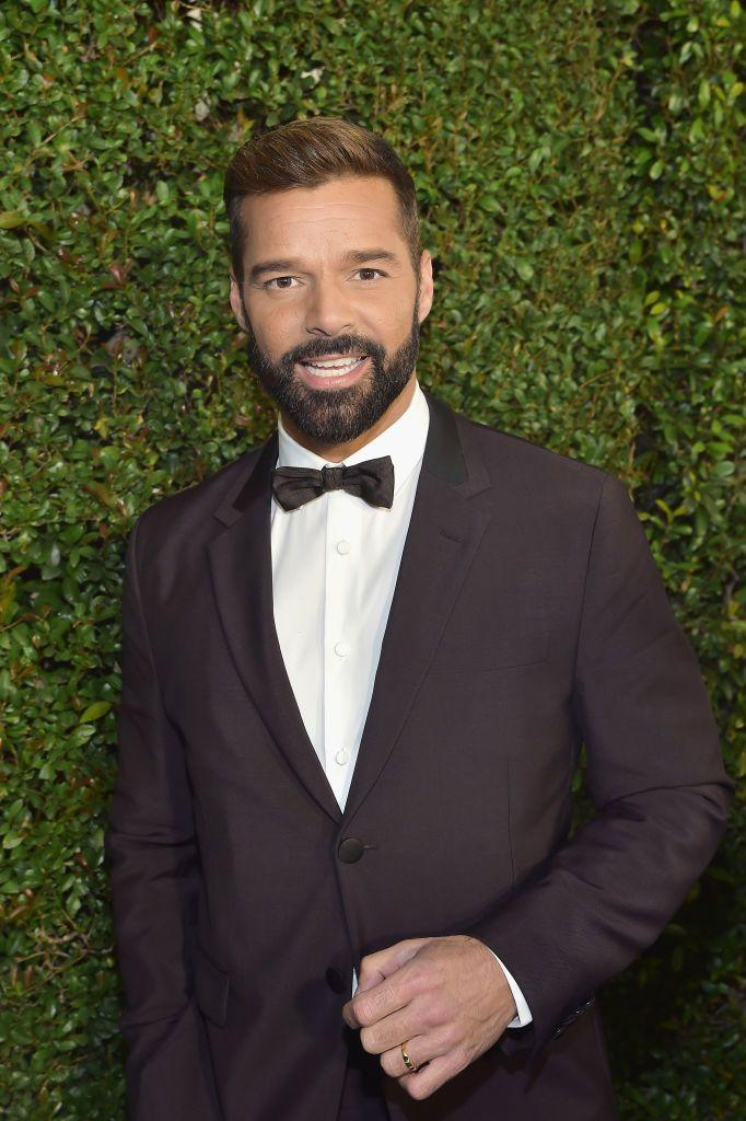 <p>Enrique José Martín Morales IV's decided on the stage name Ricky Martin.</p>