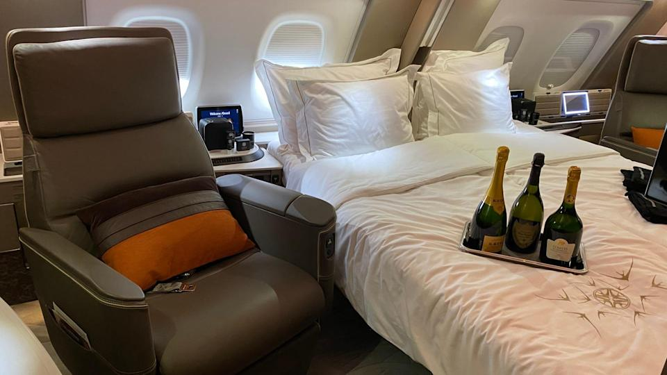 The A380 suites. Photo: Coconuts