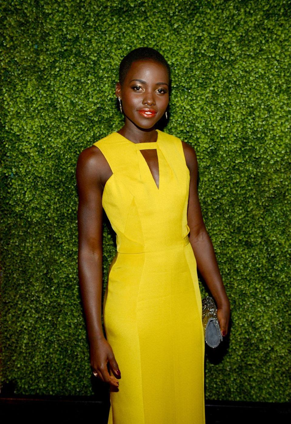 <p>N'yongo gives Maz her distinctive voice and flair, and while the stunning <em>Black Panther</em> star looks nothing like this elderly alien, N'yongo's movements were used as motion-captures to create the CGI visuals. </p>