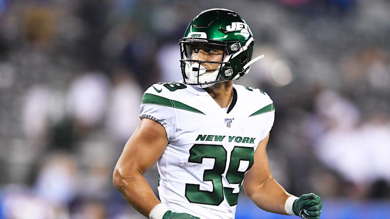 The New York Jets have decided to cut ties with former NRL star Valentine Holmes.