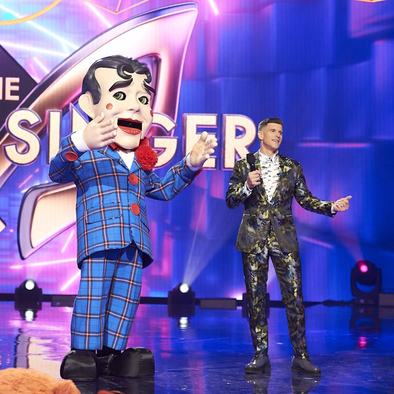 the masked singer puppet revealed