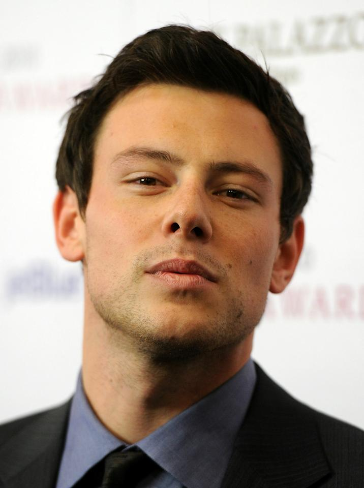 WESTWOOD, CA - DECEMBER 12:  Actor Cory Monteith arrives at the 2010 Hollywood Style Awards at the Hammer Museum on December 12, 2010 in Westwood, California.  (Photo by Kevin Winter/Getty Images)