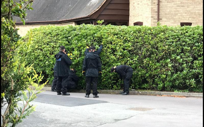 Police are urgently hunting at least two men - Credit: BNPS