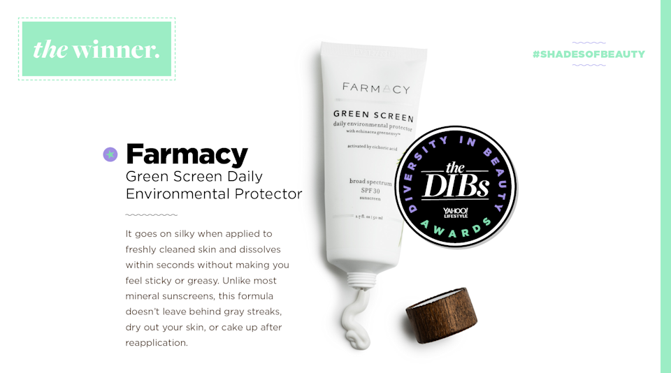 <p>It goes on silky when applied to freshly cleaned skin and dissolves within seconds without making you feel sticky or greasy. Unlike most mineral sunscreens, this formula doesn't leave behind gray streaks, dry out your skin, or cake up after reapplication. (Art by Quinn Lemmers for Yahoo Lifestyle) </p>