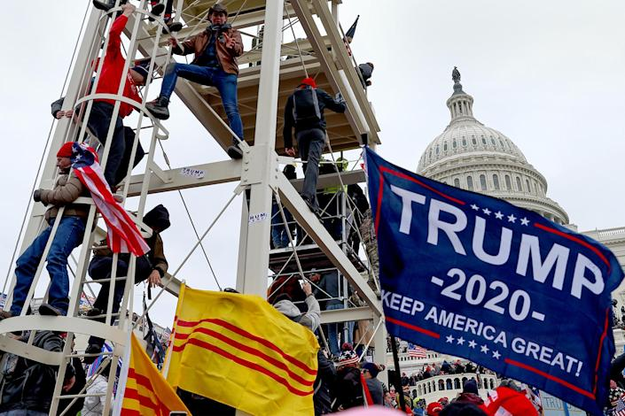 IMAGE: Trump supporters storm Capitol (Tayfun Coskun / Anadolu Agency via Getty Images)