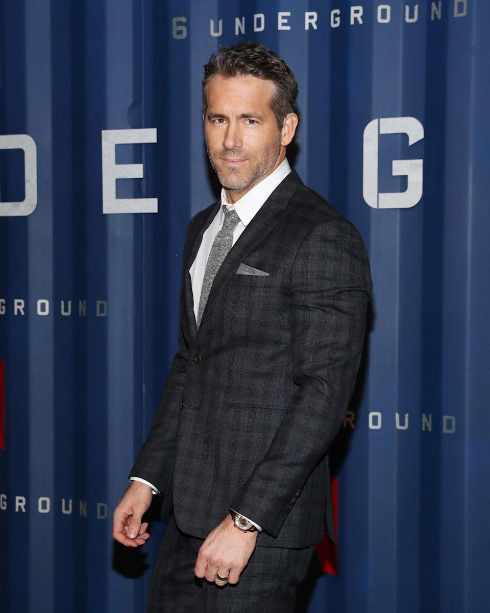 """<p>When it came to getting in shape for <em>Deadpool</em><em> 2</em>, Reynolds called on his right-hand man for the last decade—personal trainer Don Saladino, who makes sure to change the workout depending on what's going on with the actor. """"Not every day has to be a Level 10 on the workout meter.,"""" Saladino told <em><a href=""""https://www.menshealth.com/fitness/a20723702/ryan-reynolds-deadpool-2-workout/"""" rel=""""nofollow noopener"""" target=""""_blank"""" data-ylk=""""slk:Men's Health"""" class=""""link rapid-noclick-resp"""">Men's Health</a></em>. """"He comes in, he and I sit down and we have an understanding. I ask, 'How are you feeling today?' and we make an adjustment to focus the intensity on how he's feeling.""""</p><p><a class=""""link rapid-noclick-resp"""" href=""""https://www.youtube.com/watch?v=OAc4a3Pvojw"""" rel=""""nofollow noopener"""" target=""""_blank"""" data-ylk=""""slk:Watch here"""">Watch here</a></p>"""