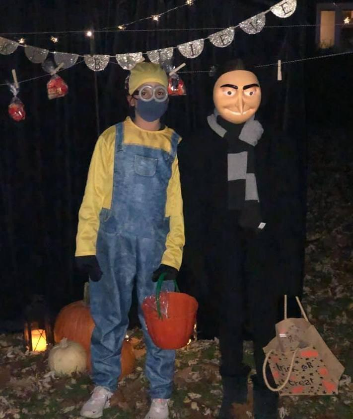 Last year, Stephanie Coughlin and a friend dressed up as characters from
