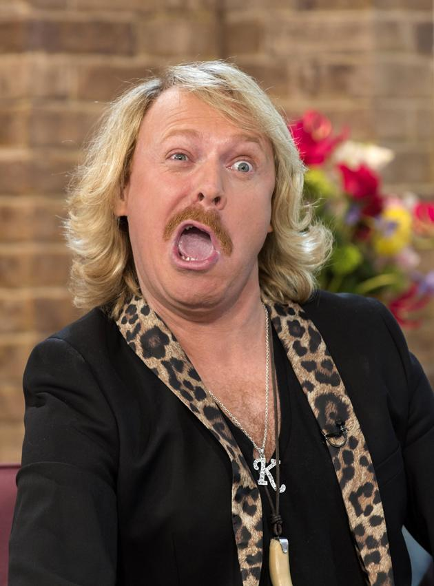 Celebrity photos: Keith Lemon was his usual cheeky self when he appeared on This Morning to promote his new film. We think this is a good attempt at an omg! face.
