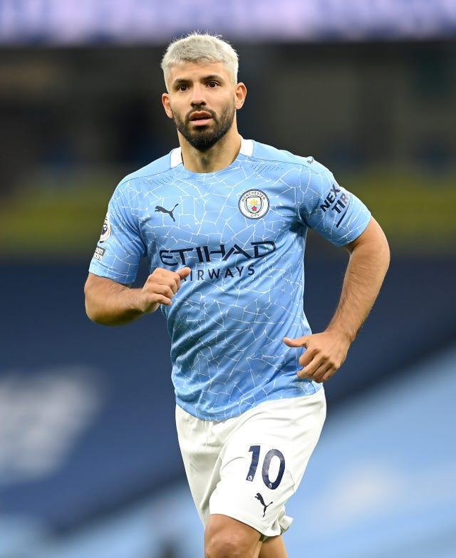 Sergio Aguero missed Sunday's FA Cup tie against Birmingham after being told to isolate