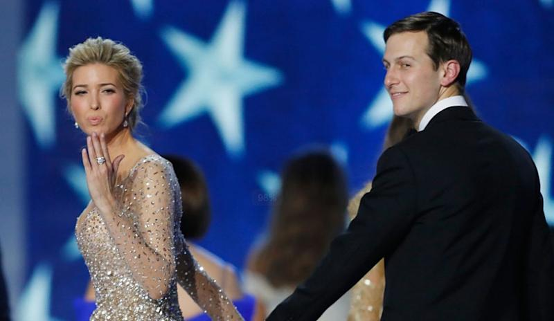 Ivanka and Jared Kushner on LGBTQ Rights [Feature Image by Aaron P. Bernstein/Getty Images]