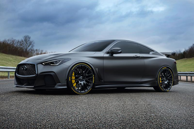 Is Infinitiu0027s F1 Insipred Coupé Going From Black To Green?