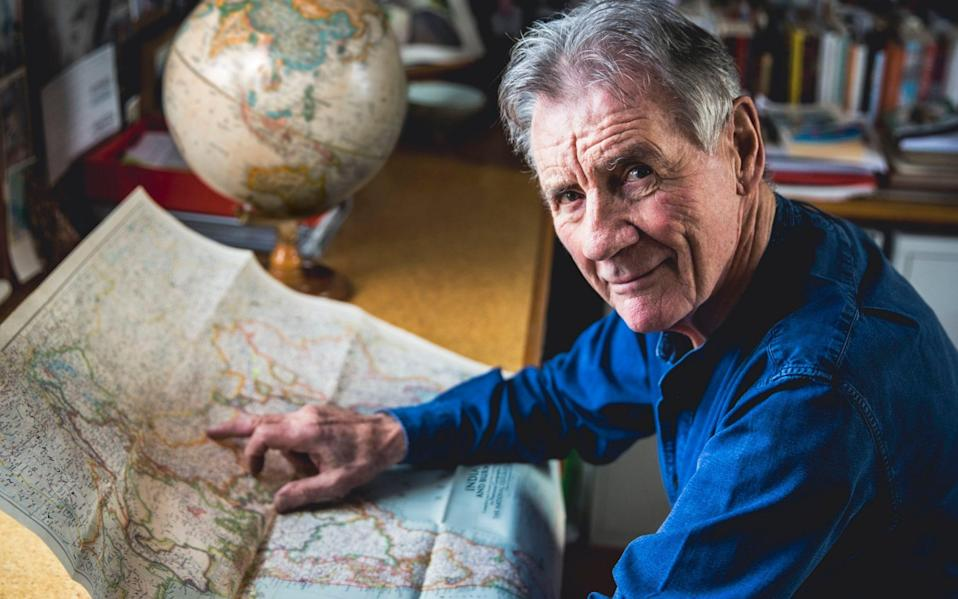 Michael Palin revisited his trip to the Himalayas - BBC
