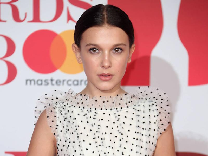 Millie Bobby Brown apologises for faking beauty routine in video