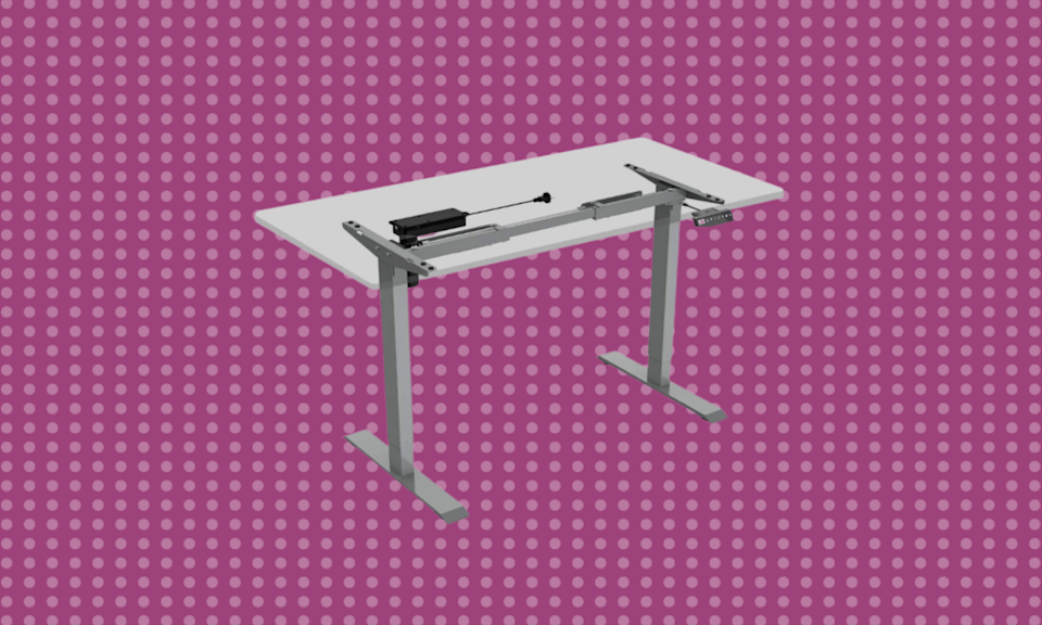 Save more than 30 percent off standing desks today. (Photo: Amazon)