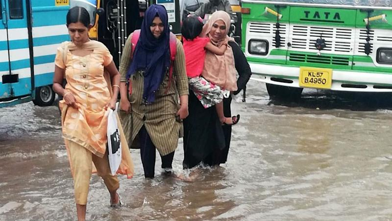 Kerala Rain Forecast: IMD Issues Red Alert in 7 Districts, Orange in 6 as Heavy Rainfall Continues