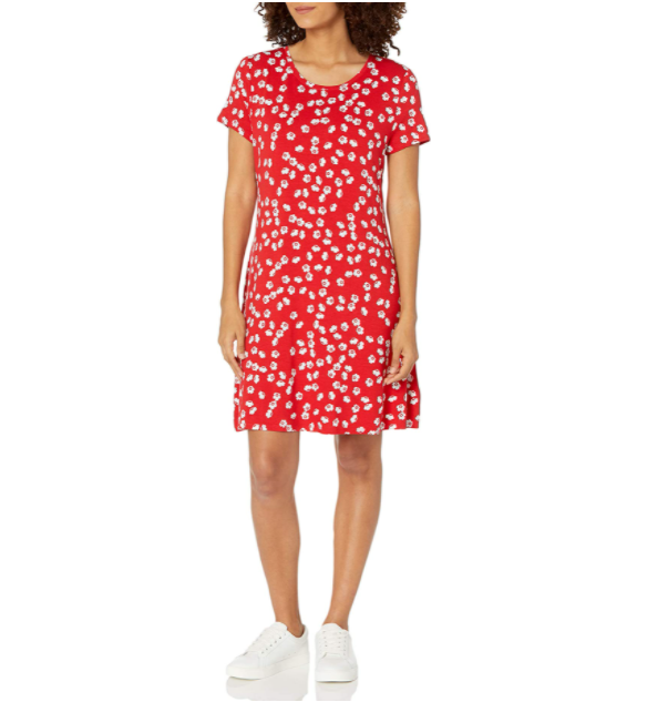 This fun little swing dress can be yours for only $14!