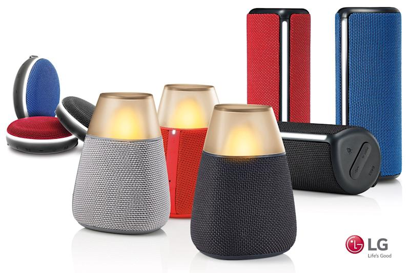 LG Bluetooth speakers unveiled ahead of IFA 2016