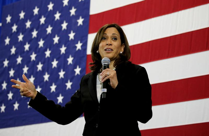 Sen. Kamala Harris' Maternal CARE Act is part of a current onslaught of legislation attempting to address the issue of black maternal mortality. (Photo: Boston Globe via Getty Images)