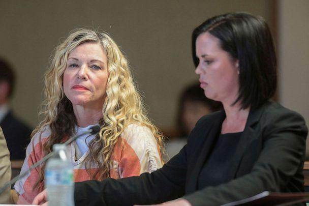 PHOTO: In this March 6, 2020, file photo, Lori Vallow Daybell glances at the camera during her hearing, with her defense attorney, Edwina Elcox, right, in Rexburg, Idaho. (John Roark/The Idaho Post-Register via AP, FILE)