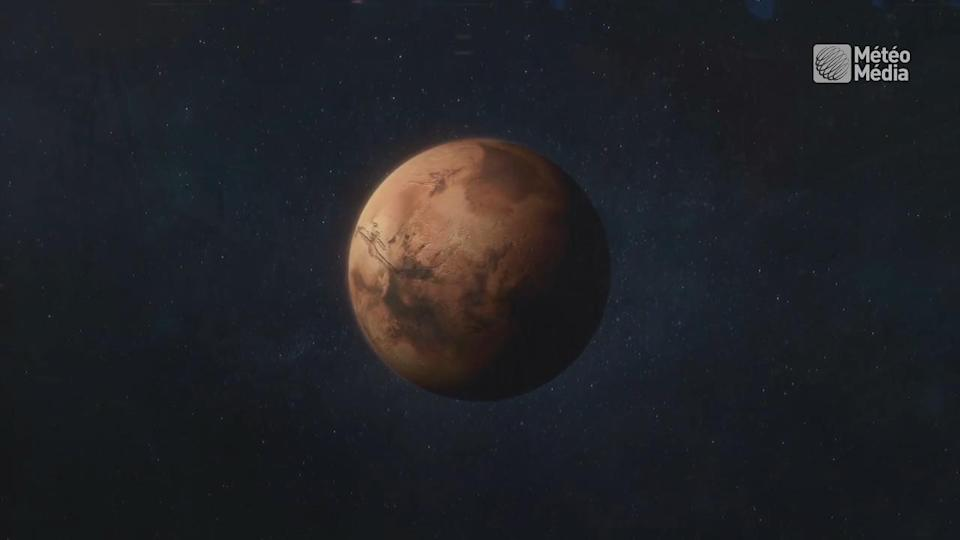 Mars may have oceans of water trapped in its crust
