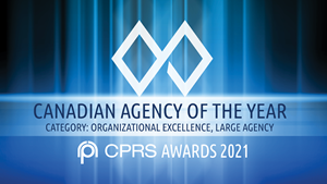 Argyle won CPRS Canadian Agency of the Year