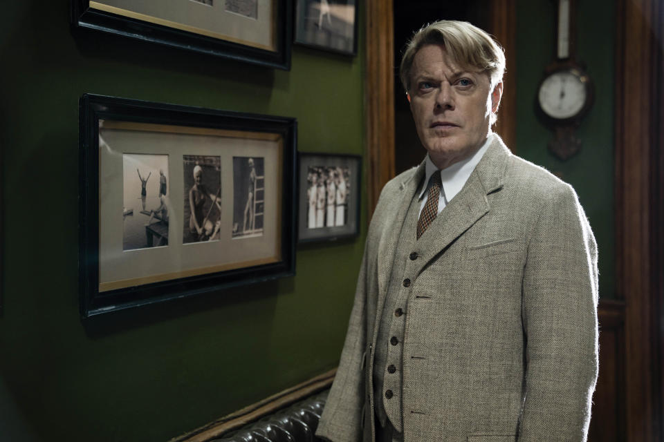Six Minutes to Midnight: Eddie Izzard and Judi Dench battle to protect a group of students from the grip of Hitler in this World War II thriller. (Sky Cinema)