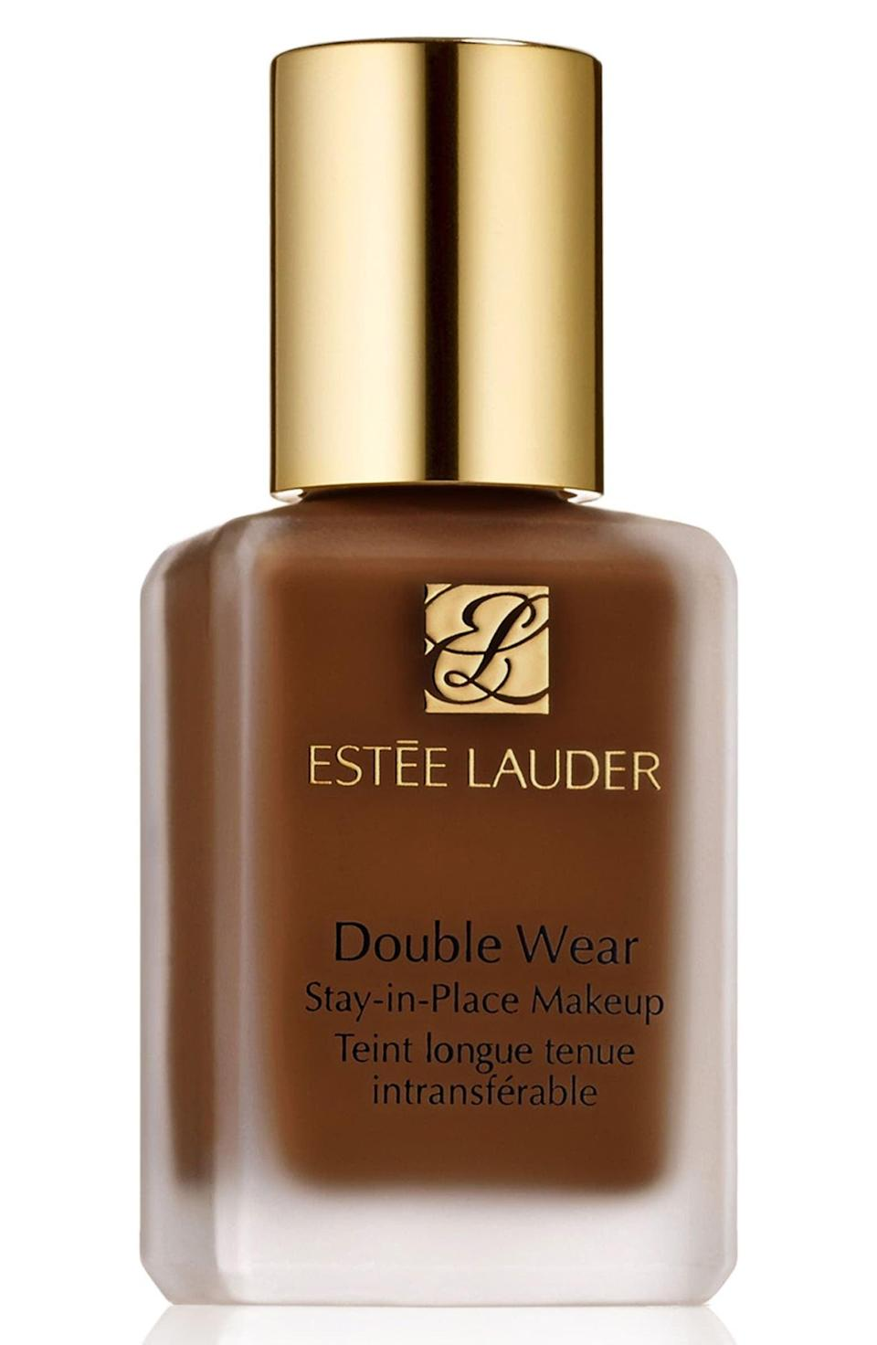 <p>There's a reason the <span>Estée Lauder Double Wear Stay-in-Place Liquid Makeup Foundation</span> ($43) has a rating of nearly five stars on Nordstrom. It's a trusted favorite that has a skin-like, matte, weightless finish with medium-to-full buildable coverage, and it's long-lasting. What more could we need for the fall?</p>