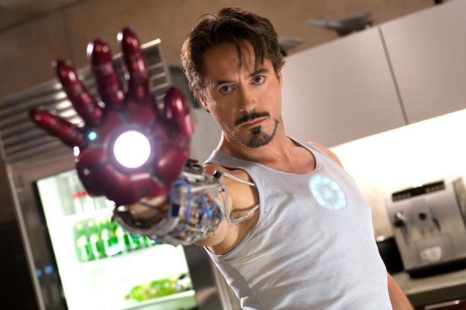 """<b>""""Iron Man""""</b><br>""""I've seen both movies,"""" Simpkins said, """"And I love superheroes. My favorite movies are action and adventure, so superheroes and action and adventure combined is really awesome. And then I got the part of Harley and I was so overwhelmed that I loved """"Iron Man"""" even more. It was the top of the bar, and then it went over the bar when I got the role."""