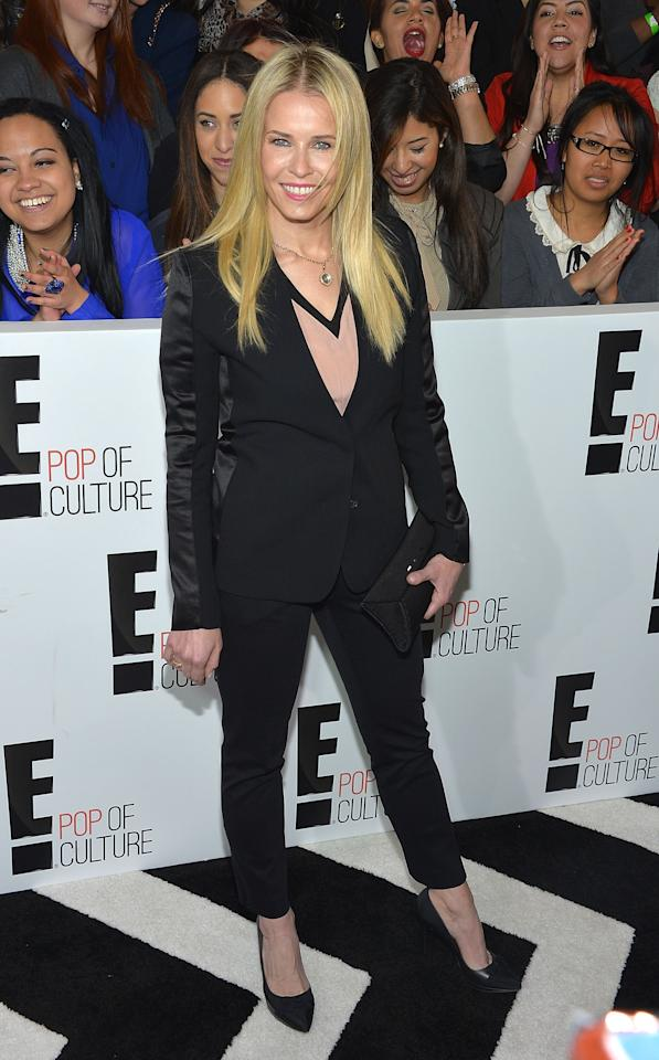 NEW YORK, NY - APRIL 22:  Comedian/talk show host Chelsea Handler attends the E! 2013 Upfront at The Grand Ballroom at Manhattan Center on April 22, 2013 in New York City.  (Photo by Mike Coppola/Getty Images)