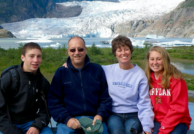 Drew Gintis, left, and his family. (Courtesy of the Gintis family)
