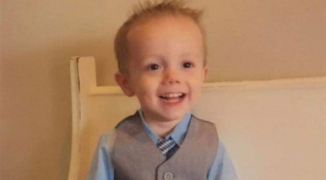 Coles James Clark Falcetti, 4, died after he shot himself at his carer's house. Photo: GoFundMe