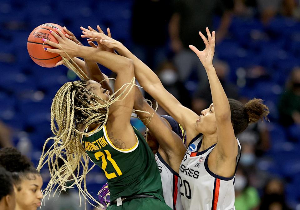 Baylor-UConn was a ratings winner. (Photo by Elsa/Getty Images)
