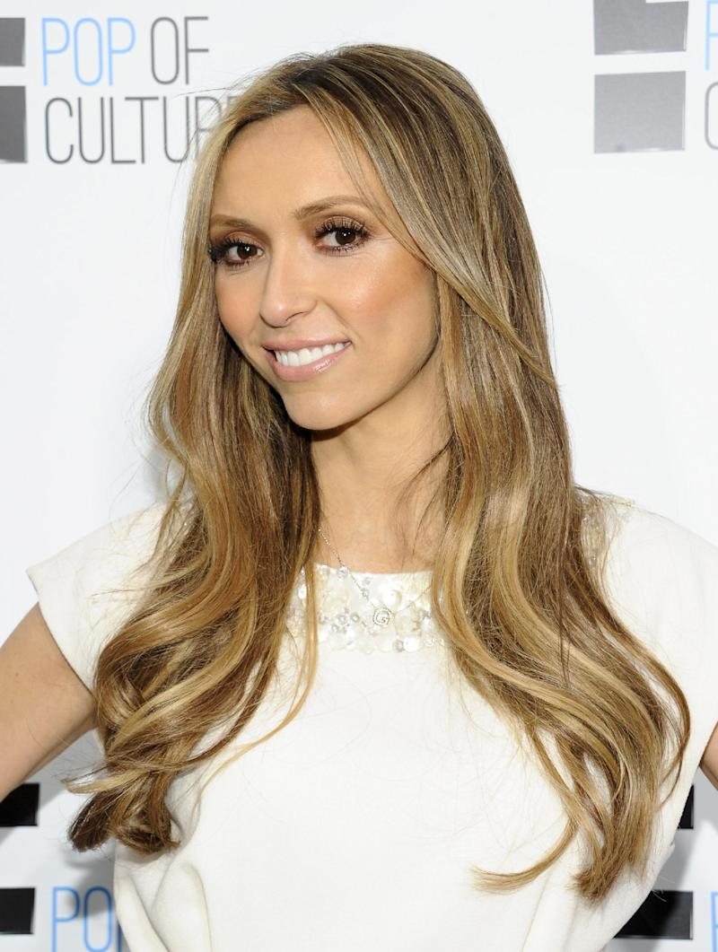 "FILE - This April 30, 2012 file photo shows TV personality Giuliana Rancic from ""Fashion Police"" attending an E! Network upfront event at Gotham Hall in New York. Giuliana and her husband, Bill Rancic, welcomed son, Edward Duke, on Aug. 29 through the help of a gestational surrogate. (AP Photo/Evan Agostini, file)"